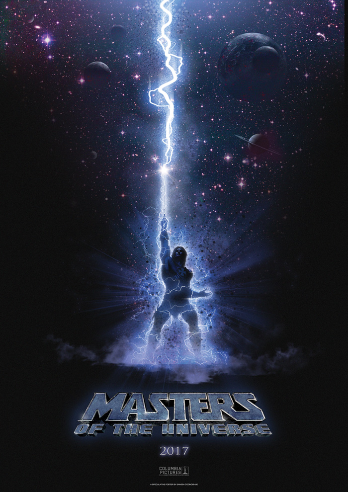 Masters of the Universe movie poster by Eamonodonoghue