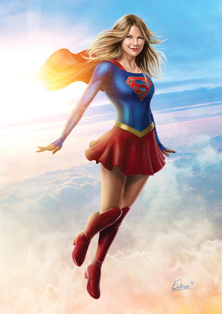 Supergirl pinup by Eamonodonoghue