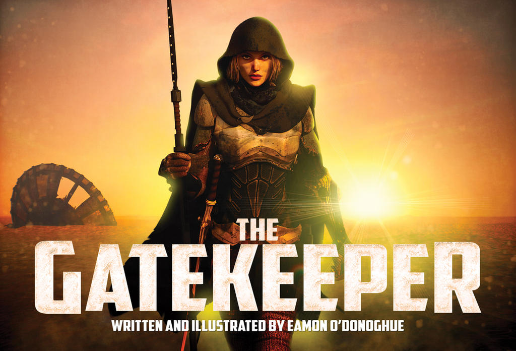 The Gatekeeper cover by Eamonodonoghue