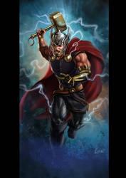 Thor Marvel Legends (unused) by Eamonodonoghue