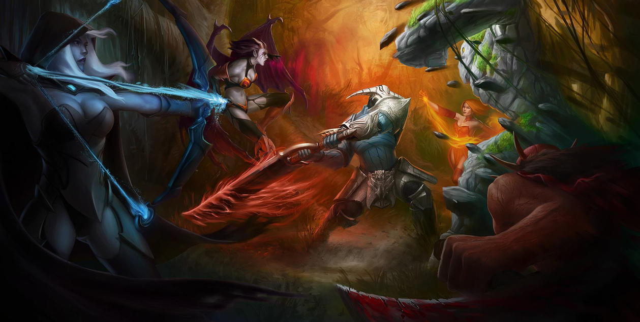 Dota 2 War Wallpaper BBF0