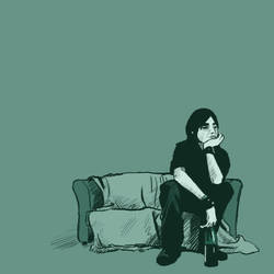 The Thinker by Maieth