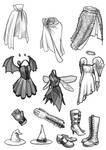 Filler art: Clothing