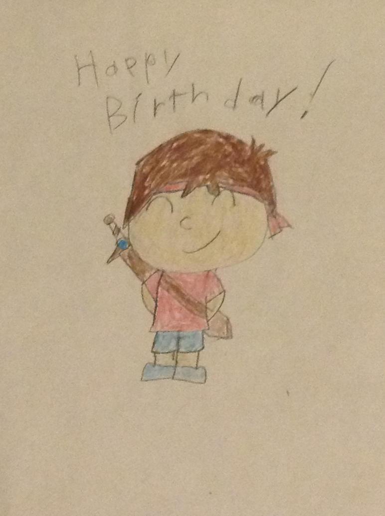 Happy birthday Eddie! by cutebutwrong