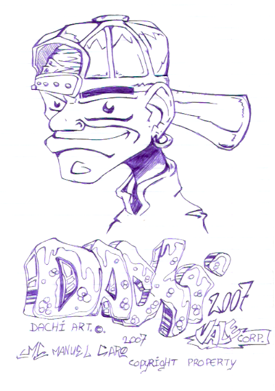 [ClyDeft] Traditional Drawn Art Comic_like_rapper_by_dachivale
