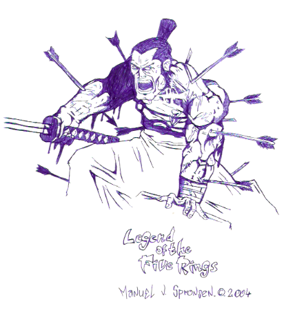 [ClyDeft] Traditional Drawn Art Wounded_samurai_by_dachivale