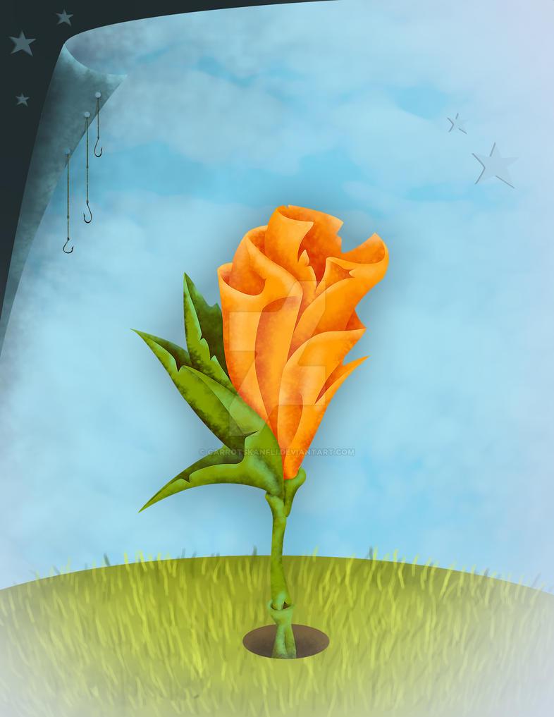 Coming Up Orange by carrotskanfli