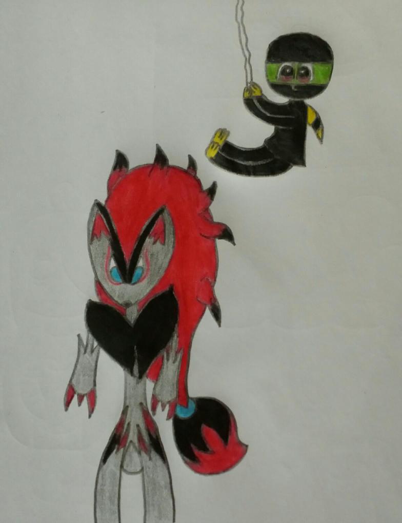 PDWMA: Fox Hunter (Ninja) by YoshiofRedemption