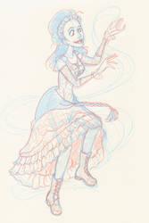Idris Sketch by Miyucchi