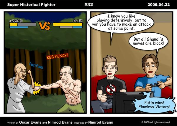 Super Historical Fighter by Shraka