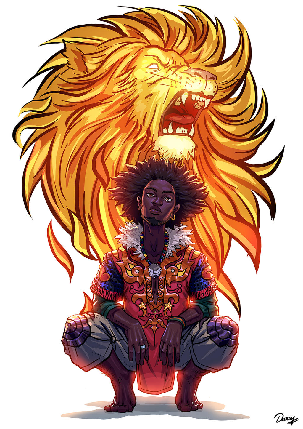 Lion King by Darsy