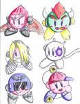 Kirby Hats 2