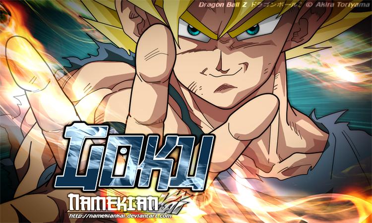 GOKU Super Duper Saiyan - WP by NamekianKAI