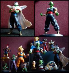 DBZ Figure Collection by NamekianKAI