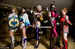 Soul Calibur Girls @ Dragon*Con 2012