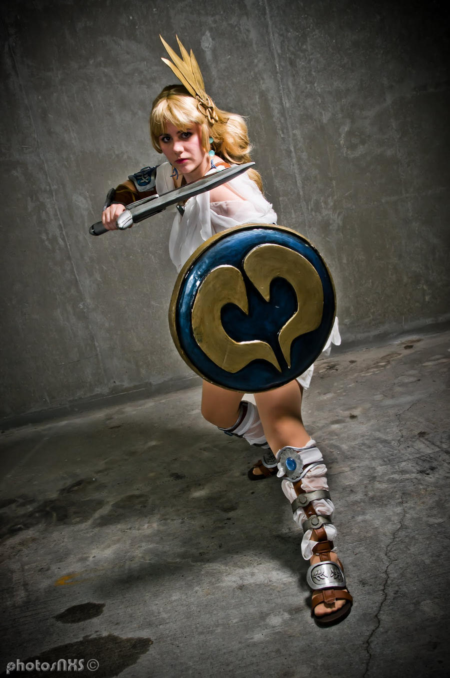Sophitia - On Guard by Kilayi