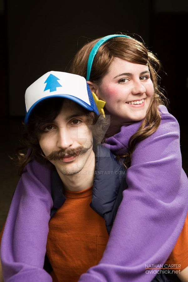 Adorable siblings - Gravity Falls cosplay by Kilayi