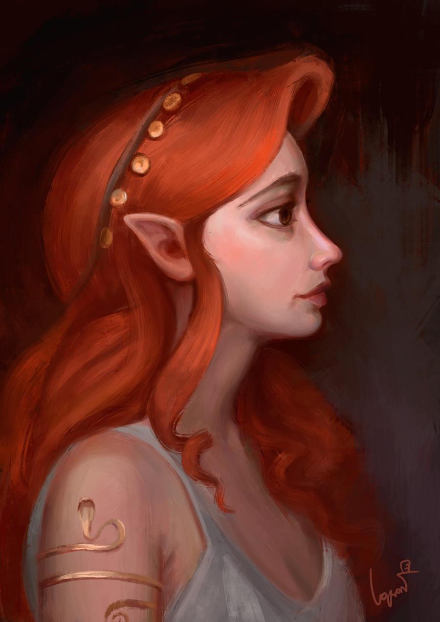Red head elf pron scenes