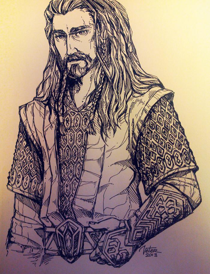 Thorin Oakenshield by vtrvtrn