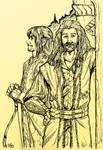 Kili and Fili in Rivendell