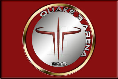 Quake 3 Arena Medal - red by DanielDausB