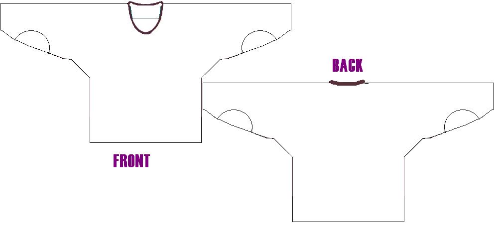 Ice Hockey Jersey Design Template