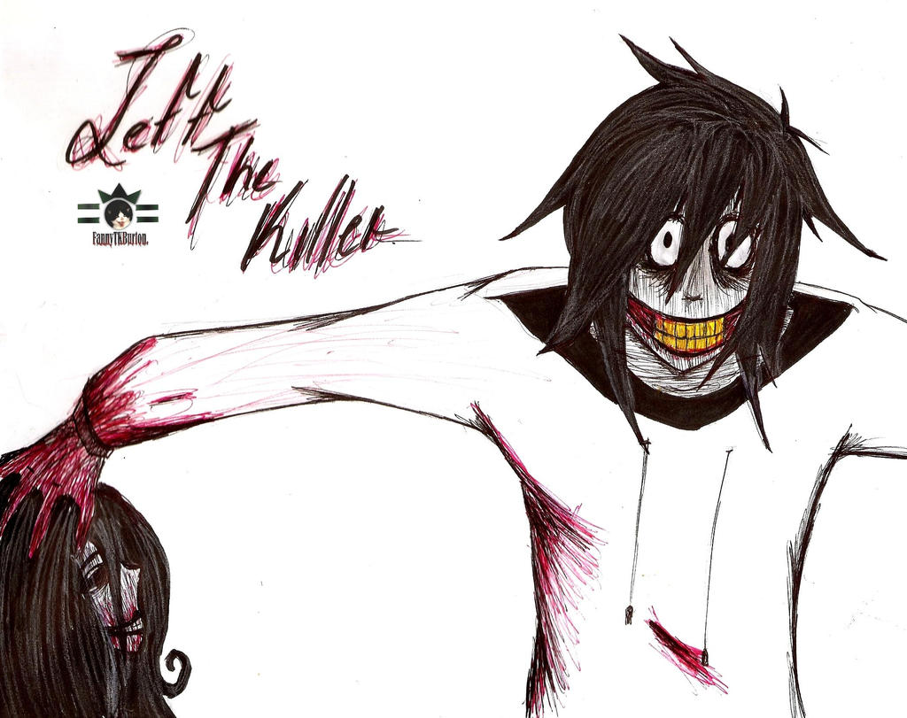 redraw jeff the killer - photo #6
