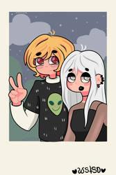 Cute couple- Evan n Sally