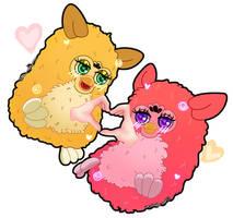 Cursed furby love