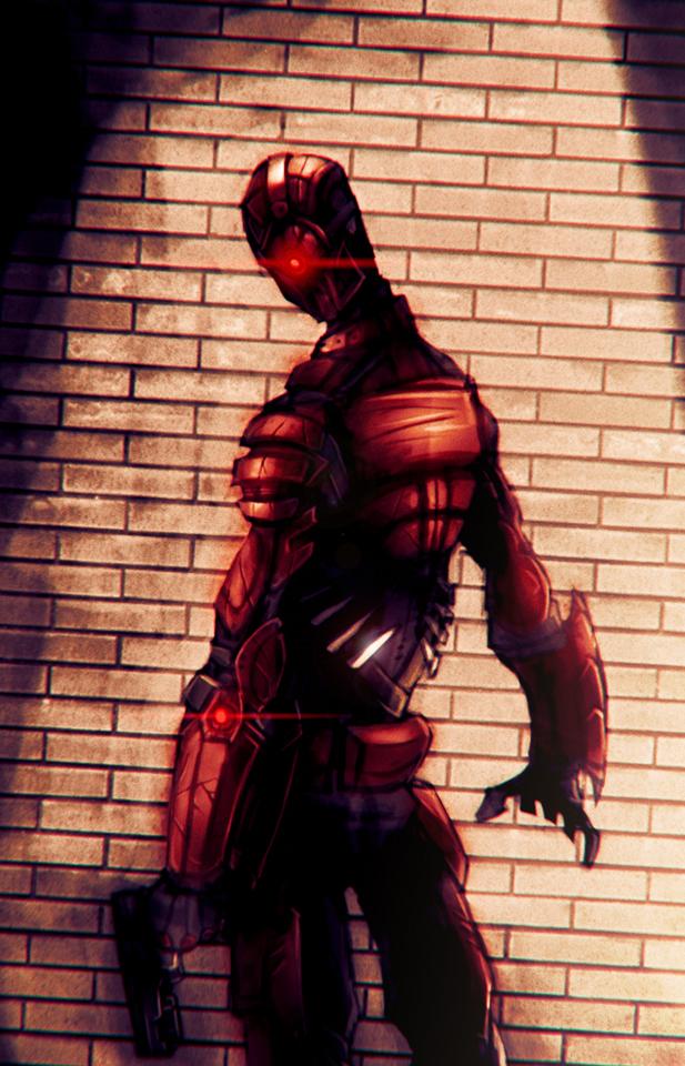 Red Hunter (Unaffiliated Vigilante) On_the_run_by_bigdad-d54hlub