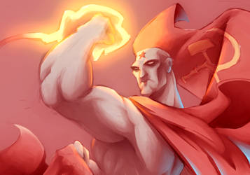 God is Red.......and angry!!!  by bigdad