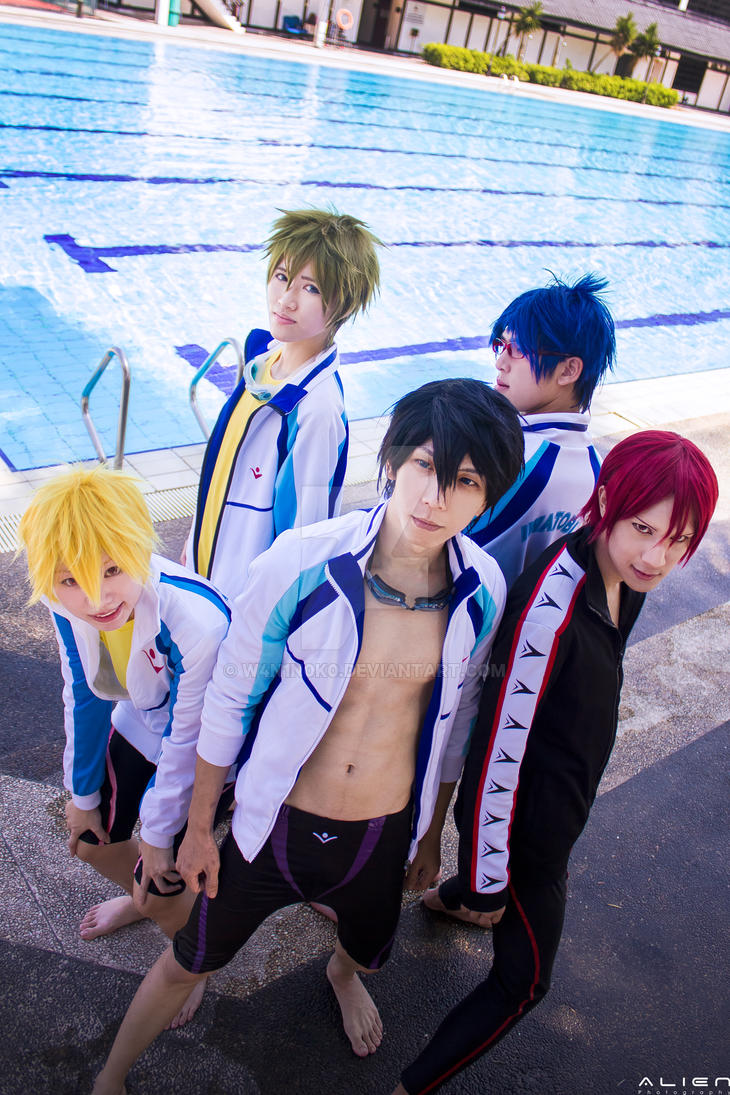 FREE! Iwatobi Swimming Club by w4n1n0k0