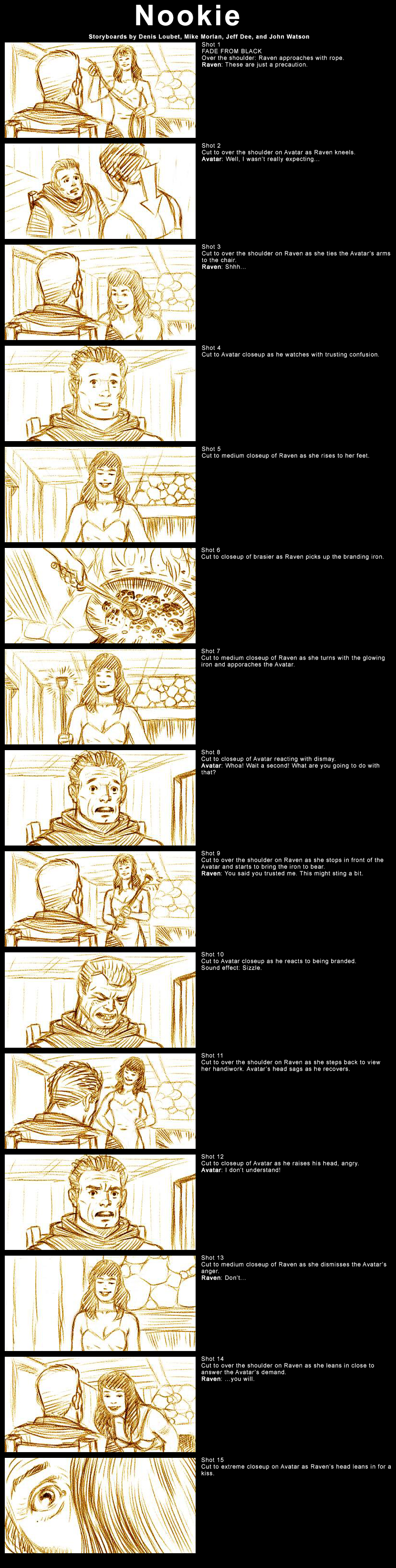"Ultima 9 ""Nookie"" Cutscene Storyboards – The Origin Gallery"