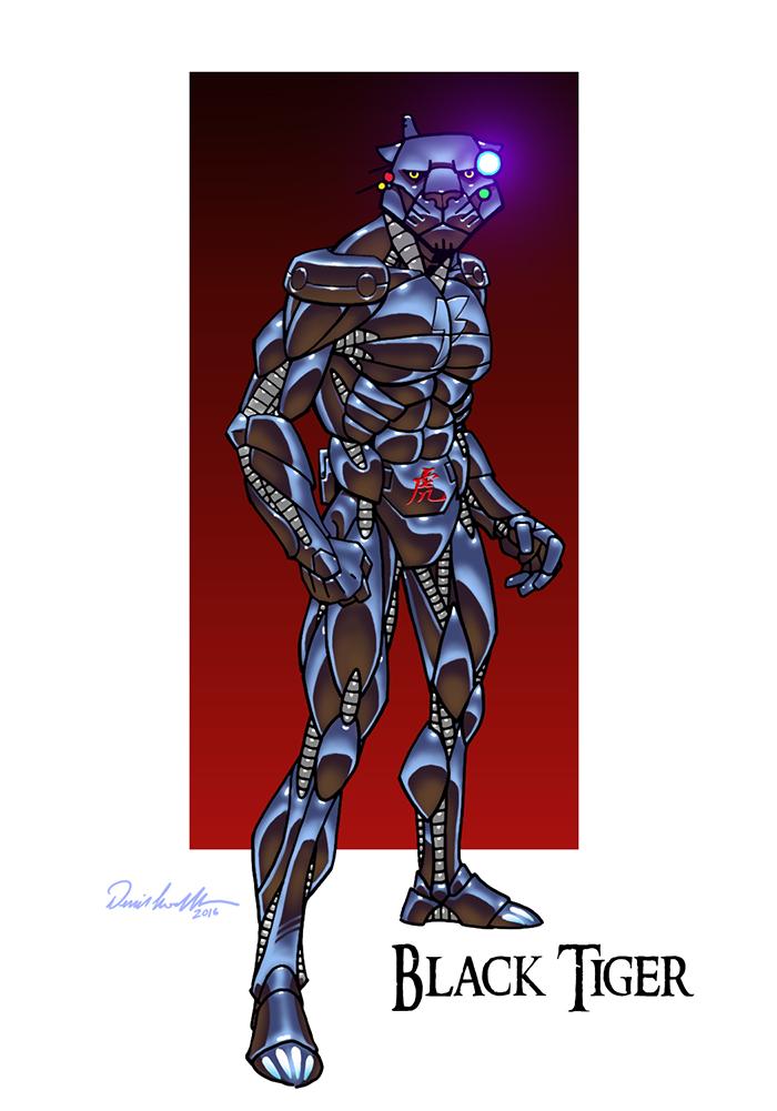 BlackTiger by dloubet