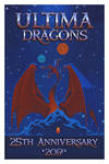Ultima Dragons 25th Anniversary Poster