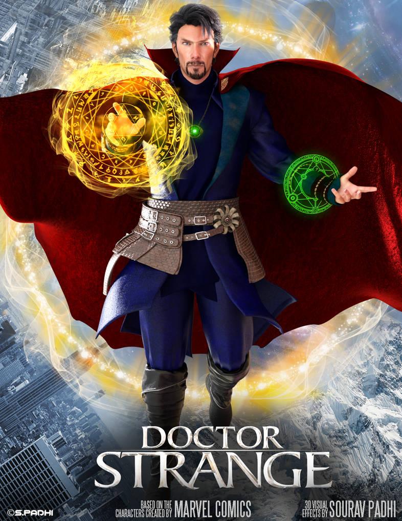 Dr. Strange fan POSTER