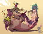 Swamp feast