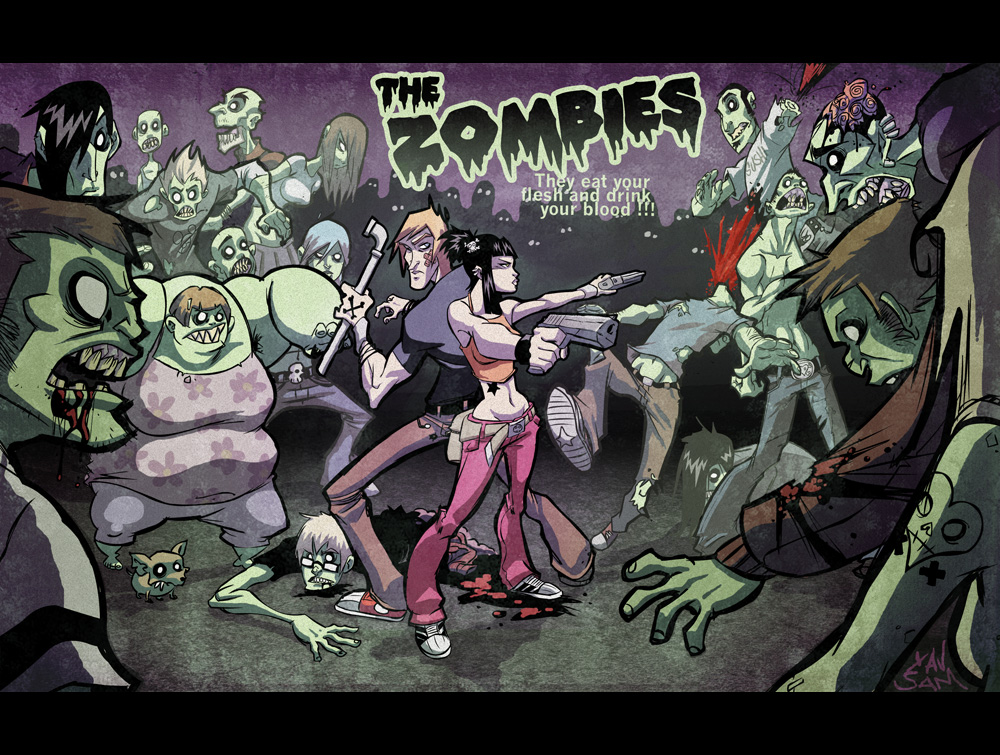 ZOMBIES, collab with XAV