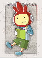 Maxwell The Scribblenaut by greenland2go