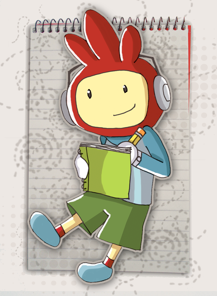 Maxwell Scribblenauts Drawing : Maxwell the scribblenaut by greenland go on deviantart