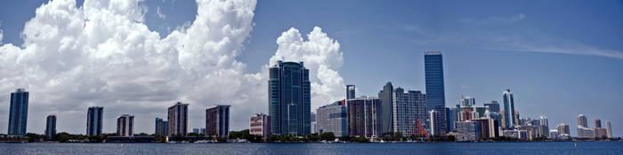 Miami Panorama by blackcat101