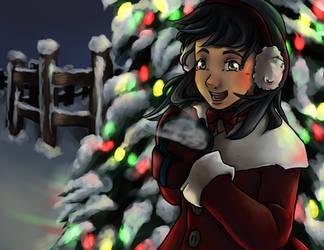 Christmas Postcard by blackcat101