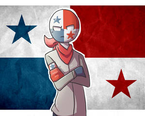 Panama but in a tsundere version // COUNTRYHUMANS