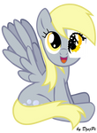 Derpy Hooves with paper eye