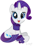 Rarity with paper eye