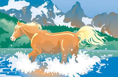 Horse hills