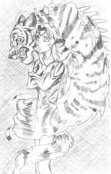 Kisa and Tiger Spirit