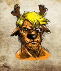Deerdevil by danifreakart