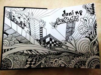 sketch book by danifreakart