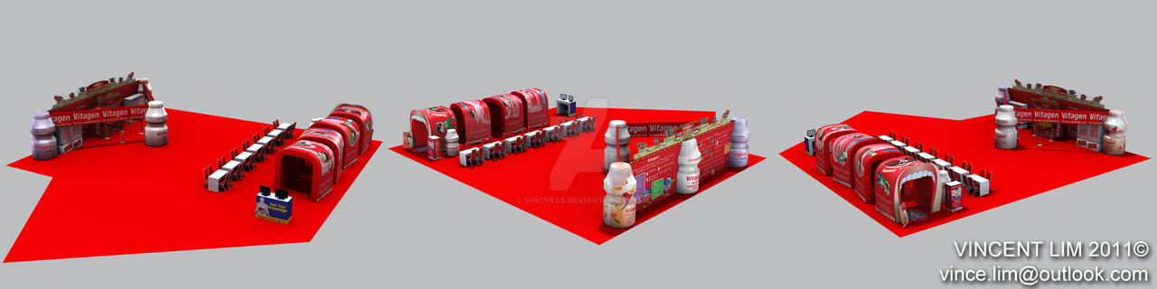 Vitagen Booth 2 (freelance) by vinchess